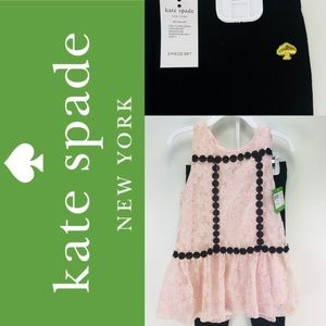 Girls Kate Spade Skirt the Rules Legging Outfit